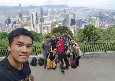 Prayer Morning on Victoria Peak